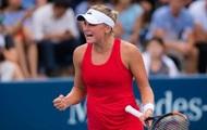 US Open (WTA): украинка Козлова впервые в карьере прошла во второй круг