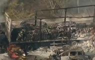 В Бразилии столкнулись 36 автомобилей