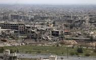 В Дамаске при авиаударе на ярмарку погибли шесть человек.