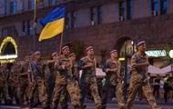 В Киеве состоялась репетиция парада к 24 августа