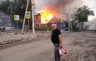 В Ростове горят 25 домов, идет эвакуация