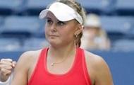 Украинка Козлова выиграла турнир в Китае, переиграв в финале россиянку