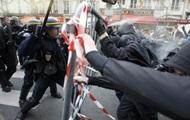 В Париже вспыхнули массовые протесты профсоюзов