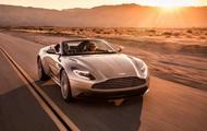 Aston Martin показал люксовый спортивный кабриолет