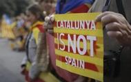 Франция не признает независимость Каталонии