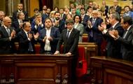 Глава Каталонии подписал документ о независимости
