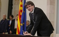 Испания отправила Пучдемона в отставку