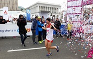 Киевский марафон выиграл спортсмен с Донбасса