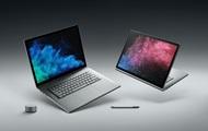 Microsoft представила обновленные Surface Book 2