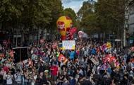 Около 40 тысяч французов протестовали против трудовой реформы Макрона