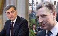 Сурков рассказал о переговорах с Волкером