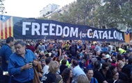 В Барселоне митингуют за автономию Каталонии