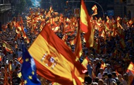 В Каталонии протестуют против независимости