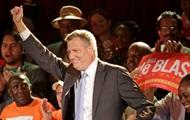 Билл де Блазио переизбран мэром Нью-Йорка