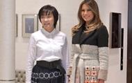 Мелания Трамп прибыла в Японию в стильном наряде