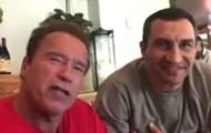 Шверценеггер записал видеообращение к мэру Кличко