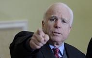 Маккейн об отказе США поставлять Киеву оружие: Это просто стыд