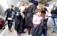 В Германию прибыл первый поезд с беженцами