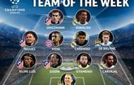 Сразу четверо игроков Атлетико попали в команду недели Лиги чемпионов