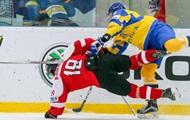 Хоккей: Украина досрочно вылетела в низший дивизион