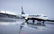Ryanair начнет рейсы из Украины раньше ожидаемого