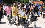 На юге Гаити грузовик въехал в толпу