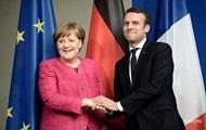 Выборы во Франции: Меркель поздравила Макрона с победой
