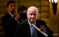 Перенесший операцию Маккейн возвращается к работе над санкциями против РФ