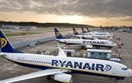 Ryanair отказался заходить на рынок Украины